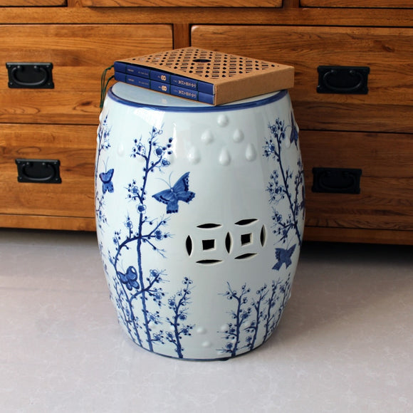 jingdezhen-ceramic-stool-blue-and-white-porcelain-hand-painted-butterfly-antique-seating-stool-new-chinese-home-decor-stool