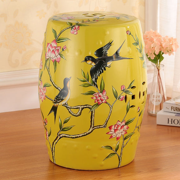 chinoiserie-birds-flowers-drum-stool-sofa-table-american-dressing-shoes-stool-flower-and-bird-ceramic-drum-stool-antique-home-decoration-porcelain-ceramic-stool