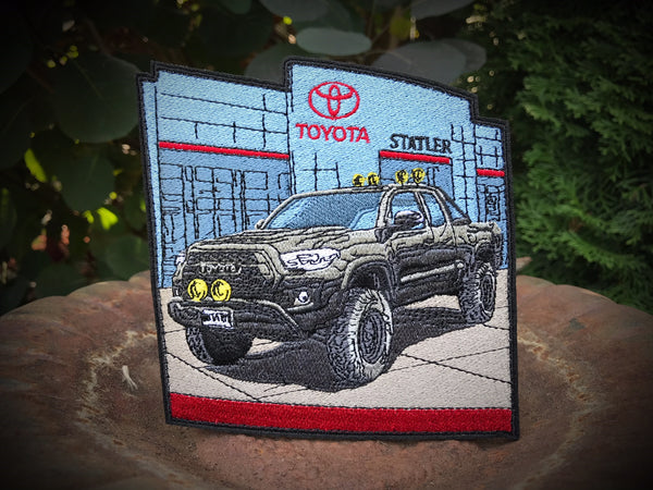 2018 BTTF Tacoma Patch