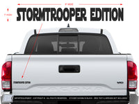 "Stormtrooper Edition Decal - Size: 1""x8"""
