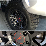 FN Fx Pro Wheels Center Cap Decal / Sticker fits Toyota Tacoma FJ 4Runner TRD