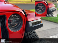 Blinker Overlay Decal - Jeep Wrangler JL 2018 2019 +