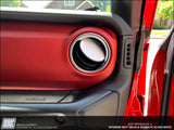 Interior Vent Decal Sticker - Designed to fit the Jeep Wrangler JL Rubicon 2018 - 2019