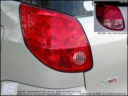 Taillight Overlay Kit v2 - Gen 1 Toyota Matrix