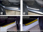 Doorsill Decals / Stickers - Choose your logo - fits 03-08 Toyota Matrix