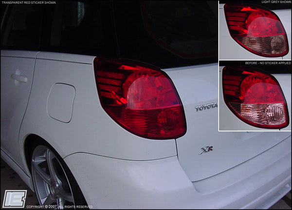 Taillight Overlay Kit v1 - Gen 1 Toyota Matrix
