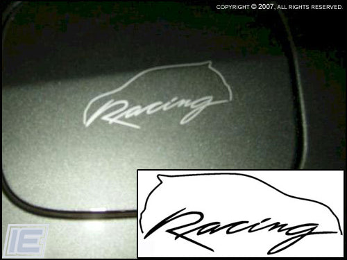 Matrix Racing Outline Sticker - Gen 1 Toyota Matrix