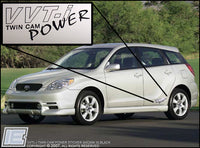 "VVT-i or VVTL-i ""Twin Cam Power"" Side body Decals"