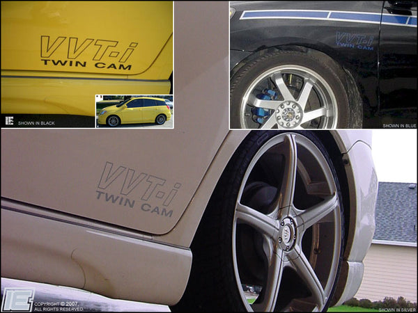 VVT-i or VVTL-i Twin Cam Sidebody Decals (v1)