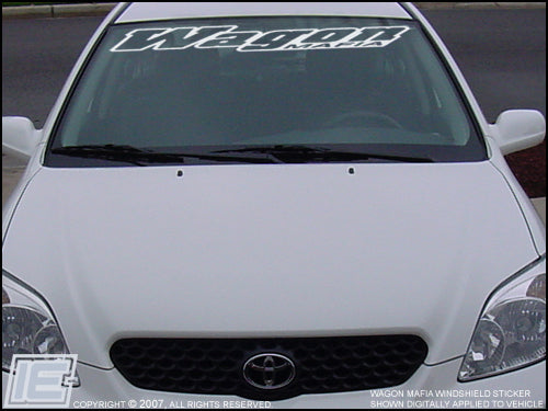 Wagon Mafia Windshield Decal / Sticker