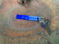 // NISMOl Key Chain - Blue Acrylic (patch drop special)