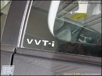 "VVT-i Decals (Small, Solid Letters - 3""W x 0.75""H)"