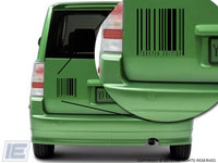 Toaster Edition Barcode  Decal Sticker