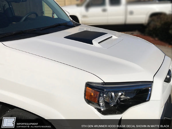 4Runner HOOD SCOOP BULGE - Glare Blocker Decal -5th Gen Toyota 4Runner 2014-2019