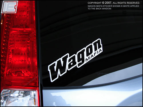 Wagon Mafia Decal / Sticker