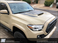 Toyota Tacoma TRD Hood Graphics Only, Choose PRO, 4x4 Off Road or 4x4 Sport - Fits 2016 2017 2018 2019 2020