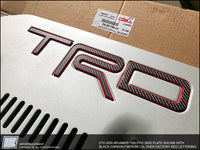 4Runner Skid Plate TRD Decal - 5th Gen Toyota 4Runner
