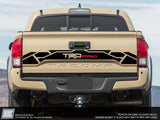 Toyota Tacoma Tailgate Graphics Kit - TRD PRO 4x4 Sport Off Road  - Fits 2016 2017 2018 2019 2020 2021