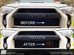 Toyota 4Runner Grille Accent Decals Stickers, fits 2014+