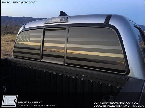 Back Window Truck Decals
