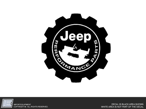 Performance Parts Decal Sticker - Fits Jeep Wrangler JL Gladiator JT 2018 2019 2020 2021