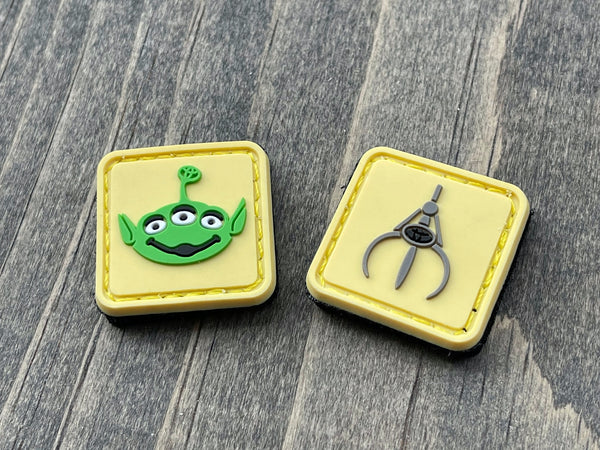 Alien & Claw PVC Ranger Eye Patches (sold in pairs)