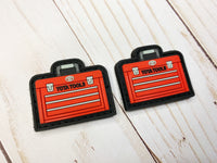 Toolbox Red PVC Ranger Eye Patch (sold in pairs)