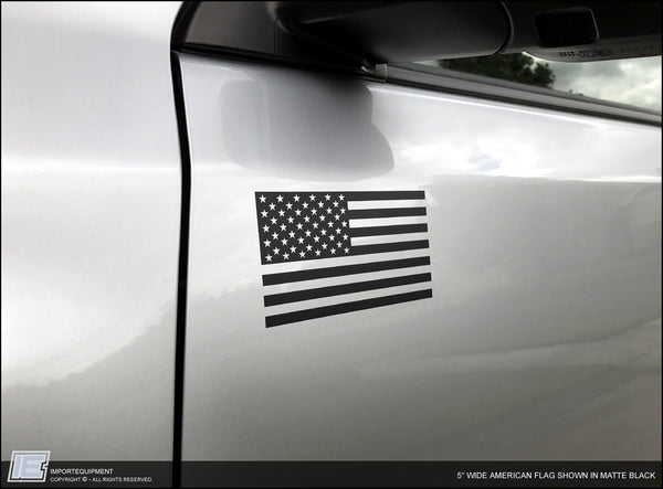 American Flag Decal - Toyota 4Runner Tacoma FJ Sequoia Tundra