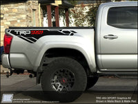 Toyota Tacoma TRD 4x4 Sport Graphics Kit - Fits 2016 2017 2018