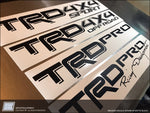 Toyota Tacoma TRD Bedside Decals (1-pair) 2016 2017 2018 single color