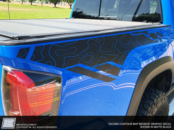 Toyota Tacoma Contour Graphics Kit - Fits 2016 2017 2018 2019 2020 TRD PRO Off Road Sport
