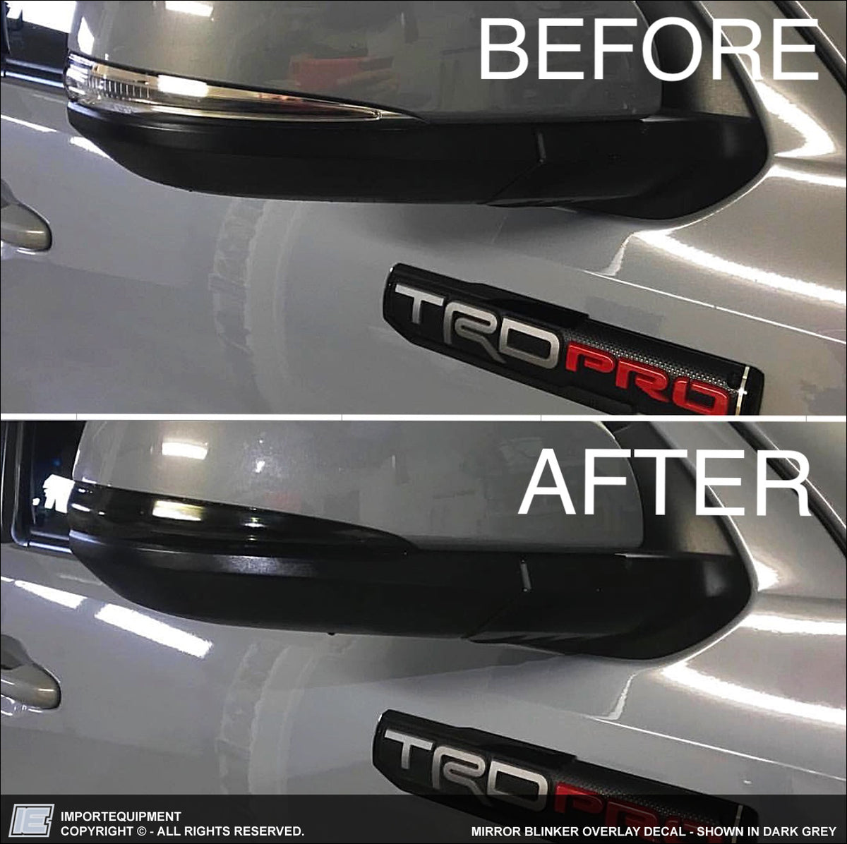 Mirror Blinker Overlay Decal Importequipment