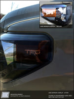 Toyota Tundra Headlight Side Marker Overlay Decal - fits: 2014 - 2017