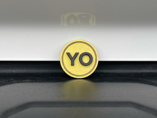 PP Round YO - Wood Patch (Sold Individually)