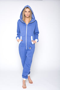 Sofa Killer jeans color onesie with white cuff