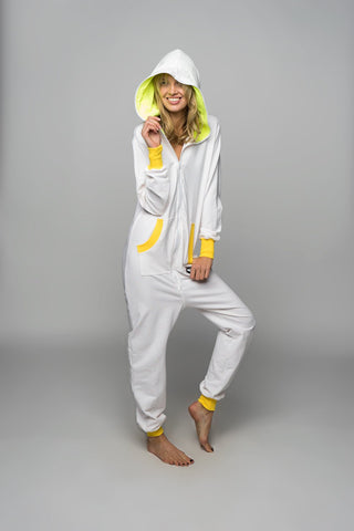Sofa Killer milky white onesie