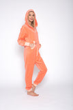 Sofa Killer peach color summer velour onesie