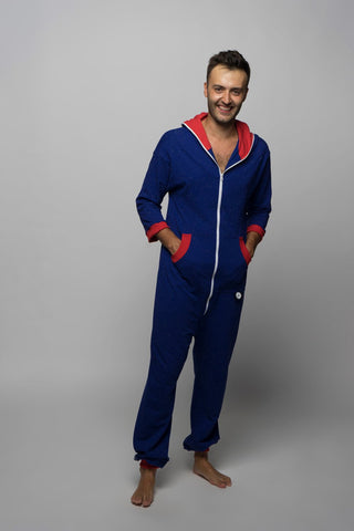 Sofa Killer royal blue onesie