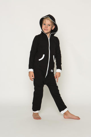 Sofa Killer black color kids onesie