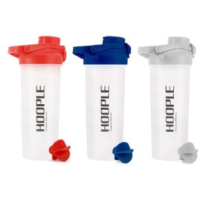 Shaker Bottle for Protein Mixes Cups Powder Blender Smoothie Shakes - 24 Ounce 3 Pack