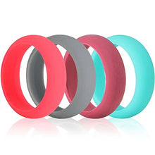 Silicone Wedding Ring Women 12 Pack
