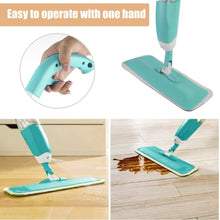 Bonison Floor Spray Mop, As Seem On TV, Microfiber Spray Cleaner 360 Degree Professional Handle Mop for Home Kitchen Hardwood, Laminate, Wood, Ceramic Tiles Cleaning (Spray Mop, Assorted Color)