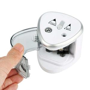 Pencil Sharpener Electric Pencil Sharpeners 2 Diameters Holes Battery Powered