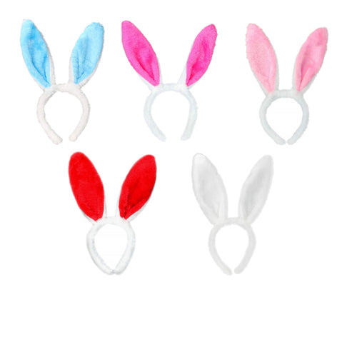 Bunny Ears Plush Headbands Hair Accessories, Cute Rabbit Headband Easter Party Favor Decoration Costume