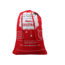 Christmas Santa Sacks for Gifts and Presents Under the Tree