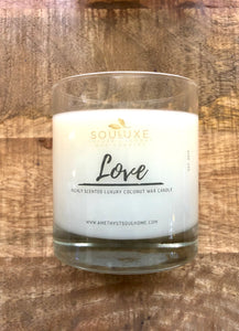 SouLuxe LOVE 7oz. Candle