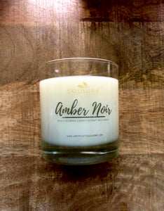 SouLuxe Amber Noir 7oz Candle