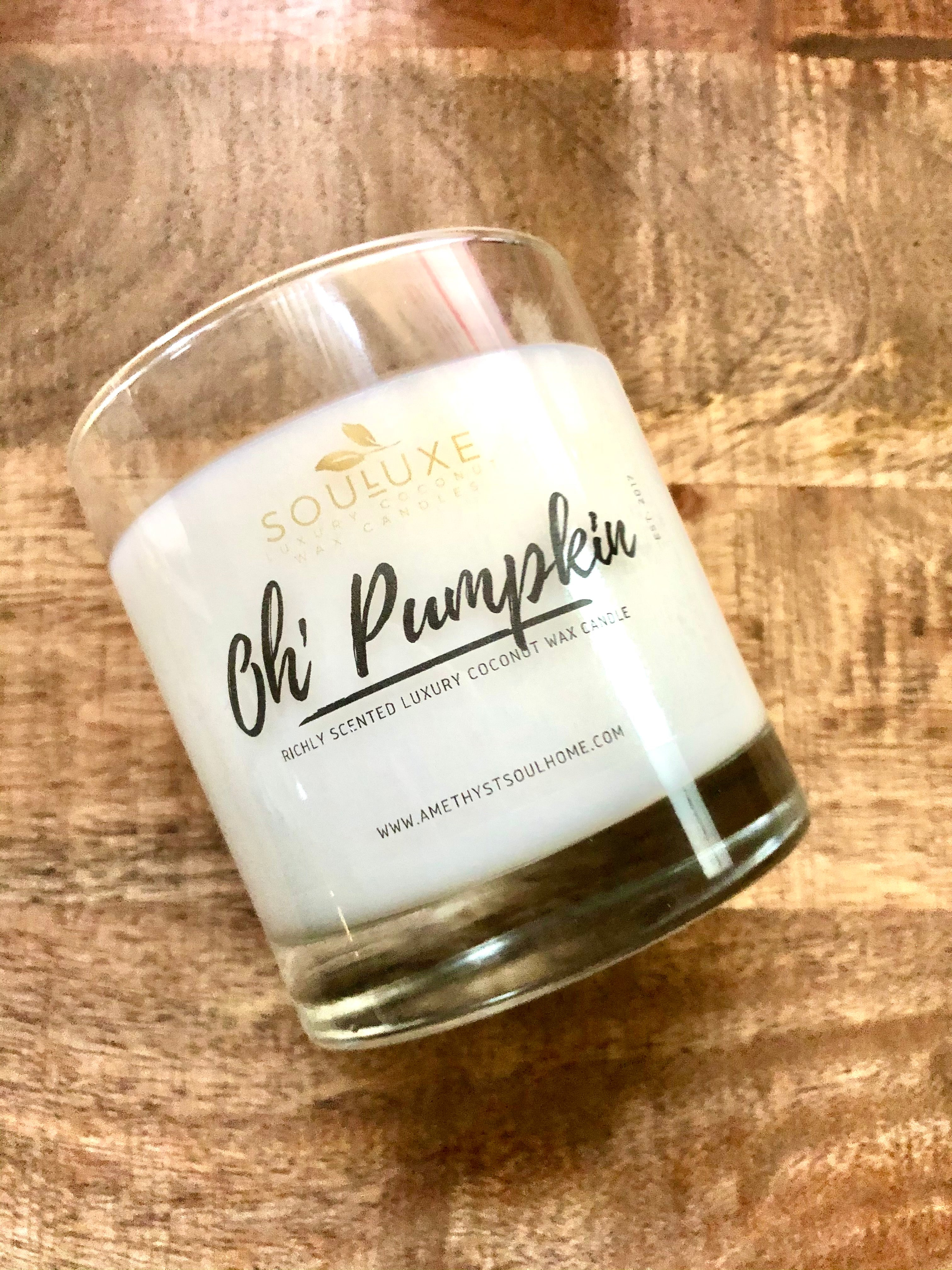 SouLuxe Oh' Pumpkin 7oz. Candle