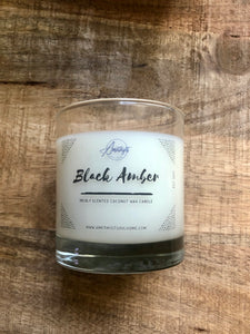 Black Amber 7oz. Candle