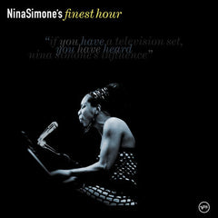 "Nina Simone ""finest hour"" album cover"